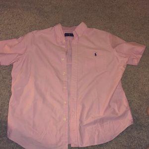 Ralph Lauren polo short sleeve shirt XL